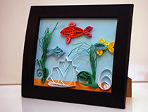 Fish. Decorative art