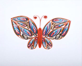 3d Picture  - Sunny Butterfly - Canvas  50 cm x 40 cm