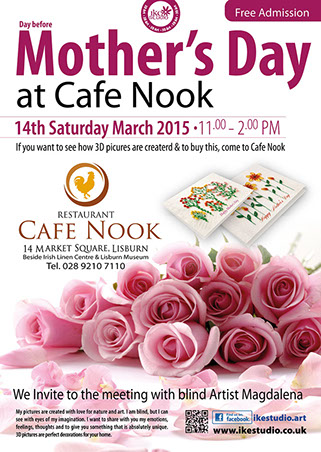 Mother's Day AT CAFE NOOK